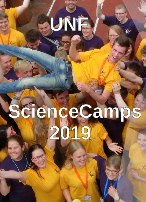 Offentliggørelse af ScienceCamps 2019
